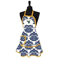 West Virginia University Damask Women's Apron