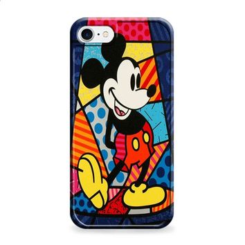 Mickey Mouse Romero Britto 2 iPhone 6 | iPhone 6S case