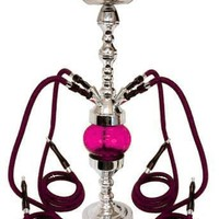 "32"" 4 Hose Rotating Hookah GREEN"