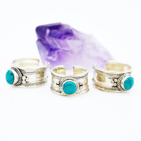 NEPALESE ➳ TURQUOISE RING