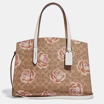 Charlie Carryall in Signature Rose Print