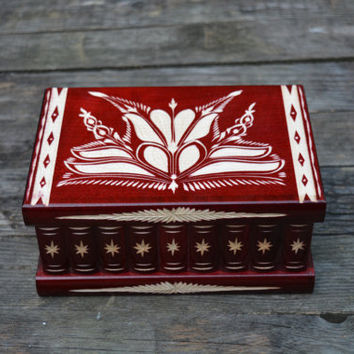 Valentines Day SALE XL size huge wooden Treasure Chest Deluxe Edition puzzle box secret compartment box brain teaser handmade jewelry box tr
