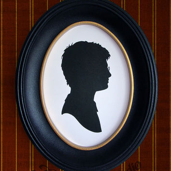 Harry Potter Hand-Cut Paper Silhouette Portrait