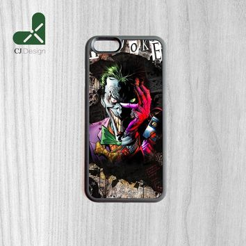New Arrival Joker Painting Durable TPU Cover Case For iPhone 6 6s And 4 4s 5 5s 5c 6 Plus mobile phone shell