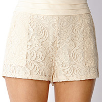 Chic Chiffon Lace Shorts