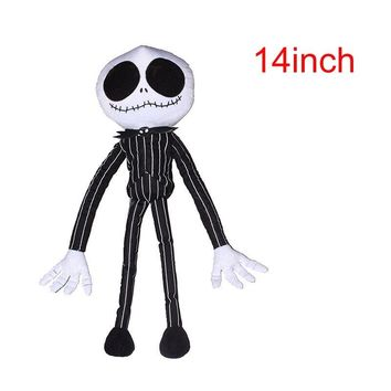 Nightmare Before Christmas Mr. JACK Doll 35CM Jack Plush Toy Boys Toys boneca Kids Gifts Soft Toys For Children