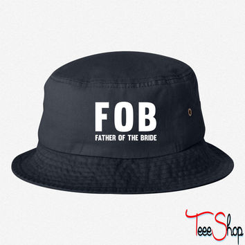 FATHER OF THE BRIDE BUCKET HAT