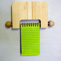 Unfinished Wood, 3 x 5 Note Pad Holder, Tole Painting, DIY