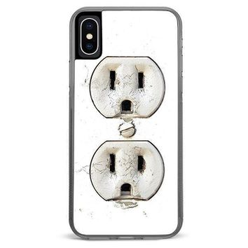 Electric Outlet iPhone XR case