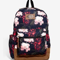 Dickies Dark Floral Backpack