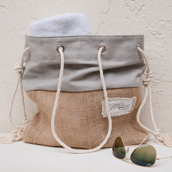 Best Burlap Beach Bag Products on Wanelo