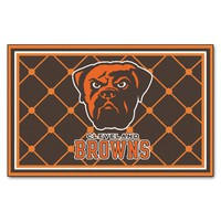 Cleveland Browns Rug 4x6