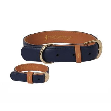 The Classic Pup: Monaco Blue - Friendship Collar