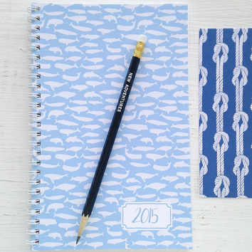 2015 spiral monthly planner - choice of cover