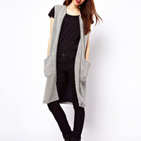 ASOS | ASOS Vest in Longline and Texture at ASOS