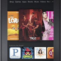 Amazon - Kindle Fire with 8GB Memory - B0085ZFHNW - Best Buy