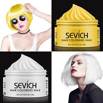 Unisex Hair Wax Color Dye in Several Colors
