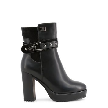 Laura Biagiotti- Studded Ankle Detail Platform Boots