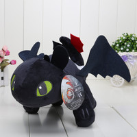 40cm How to Train Your Dragon 2 Toothless Night Fury