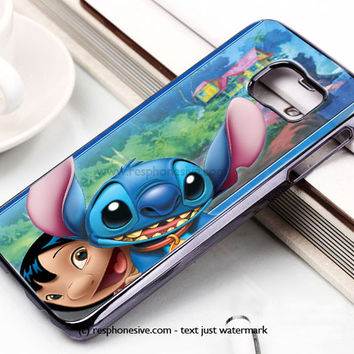 Disney Lilo Stitch Face Samsung Galaxy S6 and S6 Edge Case