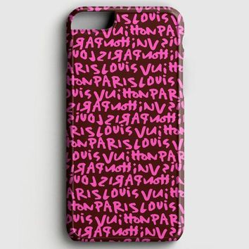 Louis Vuitton Pink iPhone 8 Case