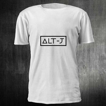 ALT J Logo TShirt Tee Shirts For Men and women with beauty variant color for Unisex Size