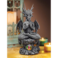 Park Avenue Collection Satya The Yoga Dragon Statue