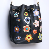 Flower Child Bucket Bag