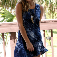 Sunnyside Tye Dye Swing Dress