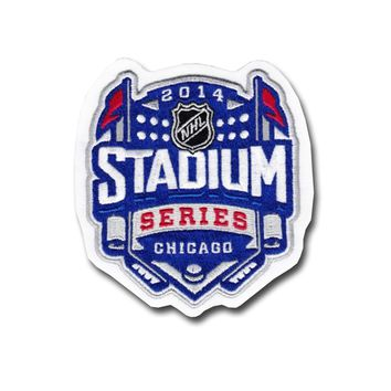 National Emblem 2014 NHL Stadium Series Game Logo Jersey Patch (Chicago)