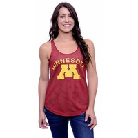 Minnesota Golden Gophers Reversible Tank Top - Women's (Red)