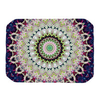 "Iris Lehnhardt ""Summer of Folklore"" Pink Navy Place Mat"