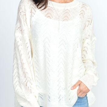 Charlotte Knit Pullover Sweater