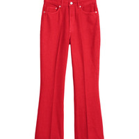 Kick Flare Jeans - from H&M