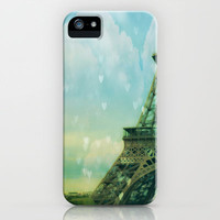 Paris Dreams iPhone & iPod Case by Ann B.