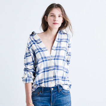 Flannel Classic Ex-Boyfriend Shirt in Akiva Plaid