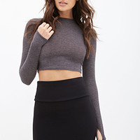 FOREVER 21 Ribbed Bodycon Skirt