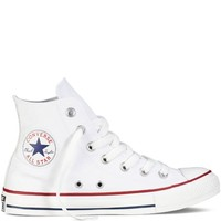 Converse Unisex Chuck Taylor All Star Hi Optical White 6 Classic Sneakers M7650
