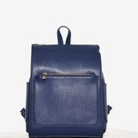 Minimal Effort Leather Backpack