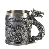 Celtic Dragon Mug Decorative Decor