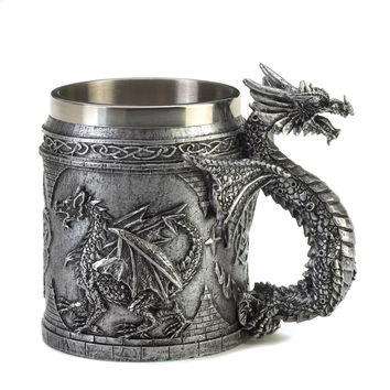 Celtic Dragon Mug
