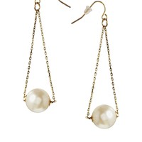 Designsix Pearl Swing Drop Earring