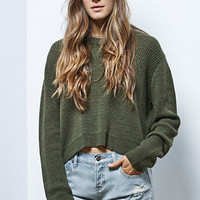 LA Hearts Cropped Pullover Sweater at PacSun.com