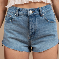 Harbor High Waisted Shorts