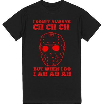 FUNNY HALLOWEEN JASON FRIDAY THE 13TH SHIRT