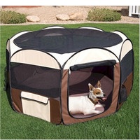 Deluxe Pop Up Pet Pen - Medium