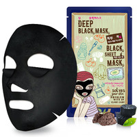 Dewytree Deep Detox Black Mask - Masks/Packs