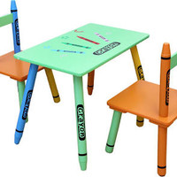 playroom table and chair set