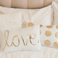Gold Spot Pillow