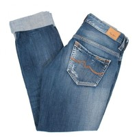 Vanilla Stone Wash Blue Denim Jeans